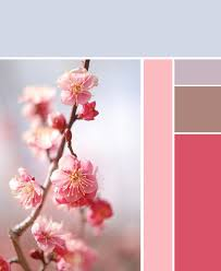 pink to blue color palette inspiration pinterest color