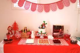 little red riding hood birthday cake