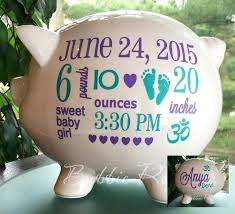 customized piggy bank baby baby girl piggy bank baby piggy banks piggy bank pewter