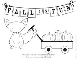 28 free fall coloring pages to print free printable fall