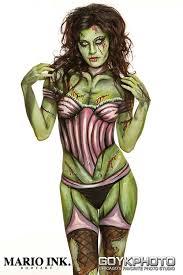 Realistic Halloween Costumes Body Paint Halloween Costume Ideas Mehron Makeup News