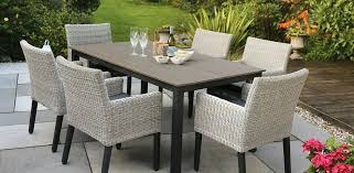 Grey Wicker Patio Furniture by Rattan Outdoor Table And Chairs Rattan Garden Furniture Rattan