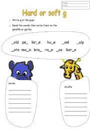 printables hard and soft g worksheets ronleyba worksheets printables