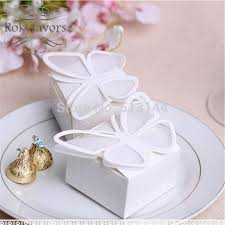 butterfly favor boxes free shipping 50pcs butterfly favor boxes wedding favors