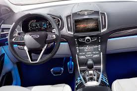 ford crossover truck ford edge concept first look truck trend