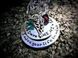 Personalized Memorial Necklace 9 Best Remembrance Images On Pinterest Marriage Wedding And
