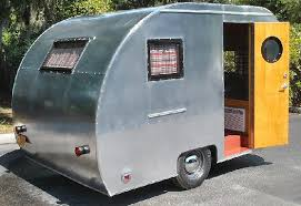 art deco u002753 fleetwood tribute u0027 travel trailer