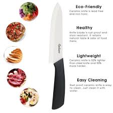 Ceramic Kitchen Knives Review Amazon Com Opelware Ceramic Chef Knife 6 Inch Cutlery Kitchen