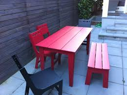 Kids Patio Table by Exterior Design Kids Plastic Play Table By Loll Designs For