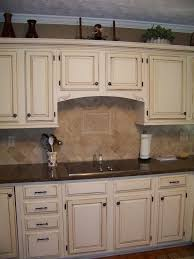White Painted Cabinets With Glaze by Kitchen Surprising Cream Painted Kitchen Cabinets Diamond Glazed
