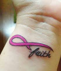 breast cancer ribbon tattoos cool concepts for pink ribbon