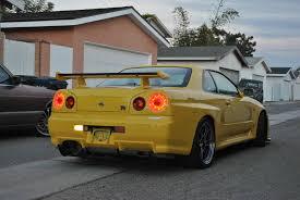 Nissan Gtr Yellow - love us a yellow r34 gtr stancenation form u003e function