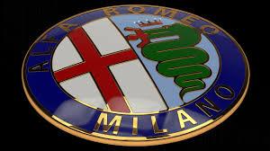 alfa romeo emblem 3d alfa romeo badge cgtrader