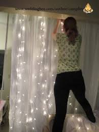 How To Make A Backdrop How To Make A Lighted Backdrop For A Wedding Party Special Event