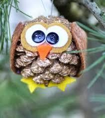 diy pinecone owl pinned by www myowlbarn diy