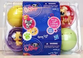 littlest pet shop easter eggs littlest pet shop exclusive 2011 easter eggs 6pack of