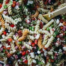 easy cold pasta salad best easy pasta salad with italian dressing savory tooth