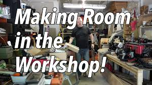 Garage Workshop by The Garage Workshop Clean Up Time Lapse 2015 Making Space To