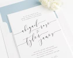 Best Font For Invitation Card Best Album Of Calligraphy Wedding Invitations Theruntime Com