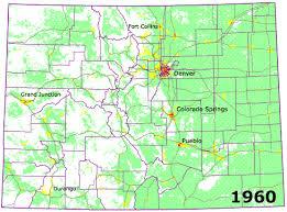 colorado population map colorado mapping development futures