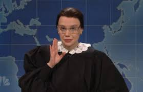 kate mckinnon u0027s ruth bader ginsberg visited u0027weekend update u0027 to