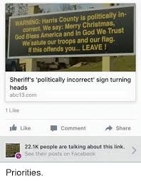 warning harris county is politically in we say merry god