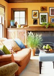 Best  Orange Living Rooms Ideas Only On Pinterest Orange - Home interior design wall colors