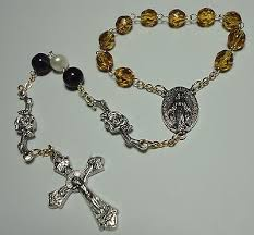 single decade rosary handmade in the usa single decade rosary miraculous medal