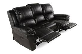 Motion Recliner Sofa by Boulevard Black Motion Reclining Sofa Mathis Brothers Furniture
