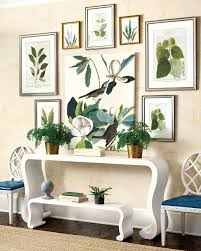miles redd for ballard designs www stylebeatblog com a console is the point piece in an entryway or a room that needs a main focus the wavy waterfall console which comes in black or white also has a bench