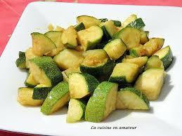cuisiner des courgettes light recette de courgettes sautées au curry