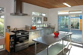 Kitchen Island With Stainless Top by Kitchen Best Stainless Steel Kitchen Island Intended For