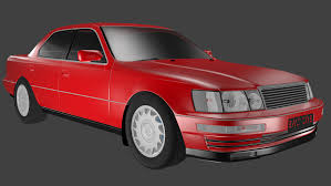lexus model lexus ls400 3d model in sedan 3dexport
