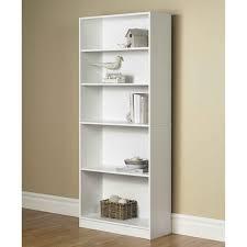 Bookcase 24 Wide Orion Wide 5 Shelf Standard Bookcase Multiple Finishes Walmart Com