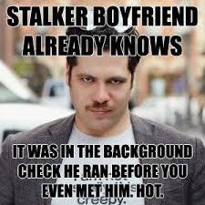 Creepy Mustache Meme - fifty shades of grey chapter 23 stalker boyfriend always knows