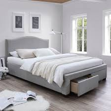 Platform Bed Frame Plans by Best 25 Upholstered Platform Bed Ideas On Pinterest Upholstered