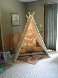 fun playroom ideas for kids with nice canvas reading tent ideas