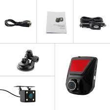 a305d dual lens fhd 1080p car dvr novatek 96658 car video recorder