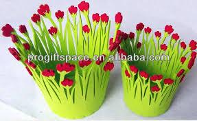 Kids Picnic Basket Fancy Felt Flower Basket Decoration Kids Picnic Baskets Gift