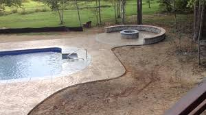 Flagstone Stamped Concrete Pictures by 16x32 Vinyl Liner With Arizona Flagstone Stamped Concrete With