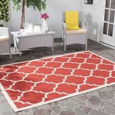 Moroccan Outdoor Rug Safavieh Courtyard Moroccan Pattern Red Bone Indoor Outdoor Rug