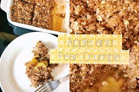 apple pear crumble healthy apple and pear crumble recipe vegan youtube