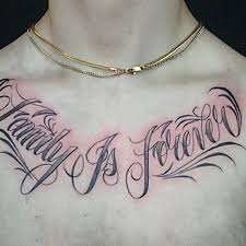 family is forever tattoos forever chest family is forever chest