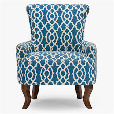 Blue And White Accent Chair Navy And White Accent Chair Alleyesonscreen Me