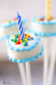 birthday cake cake pops what should i make for