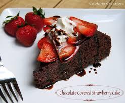 Chocolate Covered Strawberries Recipe Dishmaps Infused Chocolate Chip Snack Cake Recipe U2014 Dishmaps