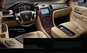 Cadillac Escalade 2014 Interior 2014 Cadillac Escalade Brochure