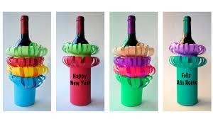 gift wrapping wine bottles three minute bottle gift wrap envoltura para botella en 3