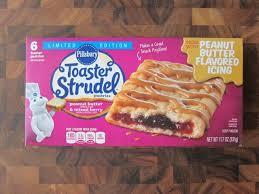 Pumpkin Toaster Strudel Frozen Friday Pillsbury Peanut Butter U0026 Mixed Berry Toaster