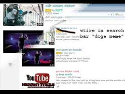 Doge Meme Youtube - youtube tips and tricks secret code doge meme change color of
